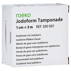 JODOFORM Tamponade 1 cmx5 m 1 Stück