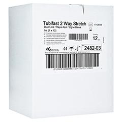 TUBIFAST 2-Way Stretch 7,5 cmx1 m blau 12 Stück