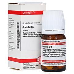 GRATIOLA D 6 Tabletten 80 Stück N1
