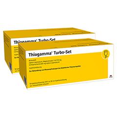 THIOGAMMA Turbo Set Injektionsflaschen 2x5x50 Milliliter N2