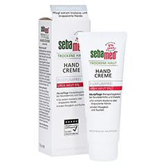 Sebamed Trockene Haut Handcreme Urea akut 5% parfümfrei 75 Milliliter