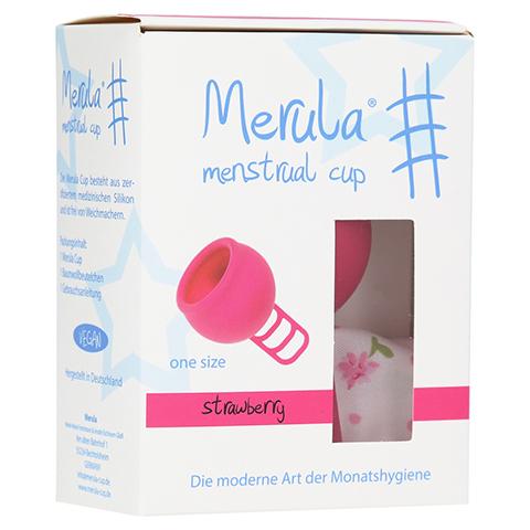 MERULA Menstrual Cup strawberry pink 1 Stück