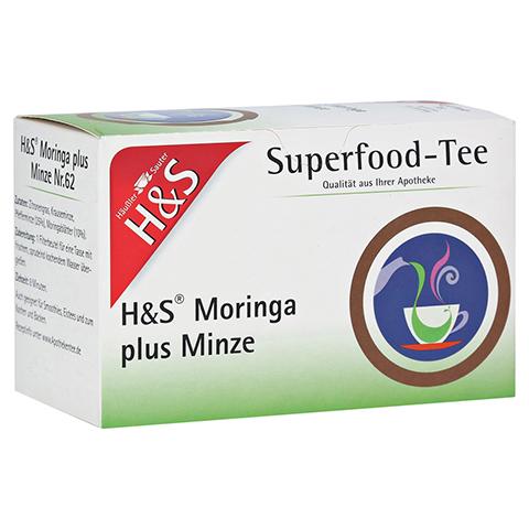 H&S Moringa plus Minze Filterbeutel 20x2.3 Gramm