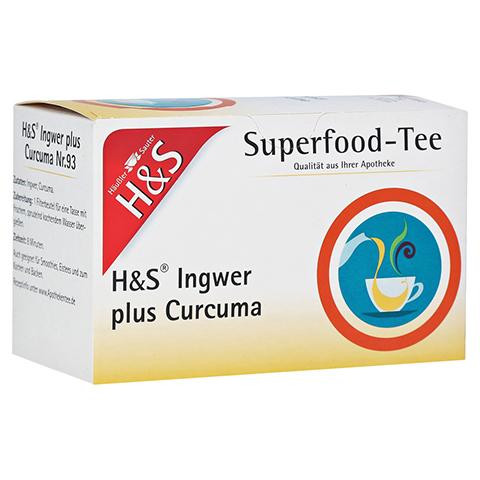 H&S Ingwer plus Curcuma Filterbeutel 20x1.25 Gramm