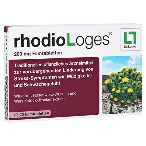 RHODIOLOGES 200 mg Filmtabletten 20 Stück N1