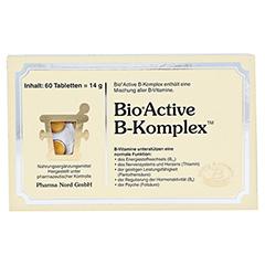 BIO ACTIVE B-Komplex Tabletten 60 Stück - Vorderseite