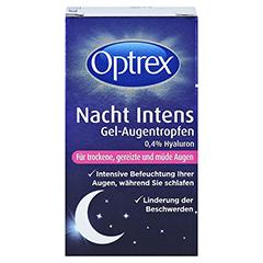 Optrex Nacht Intens Gel-Augentropen 0,4% Hyaluron 10 Milliliter - Vorderseite