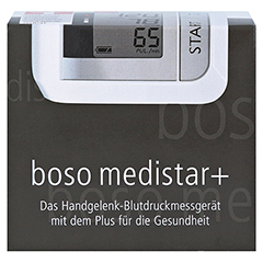 BOSO medistar+ Handgelenk-Blutdruckmessgerät 1 Stück - Vorderseite