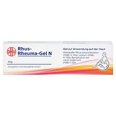 RHUS RHEUMA Gel N 50 Gramm N1 - Vorderseite