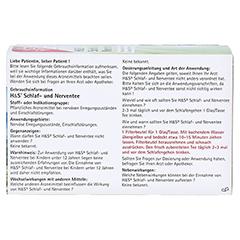 H&S Schlaf-und Nerventee 20x2.0 Gramm - Rückseite