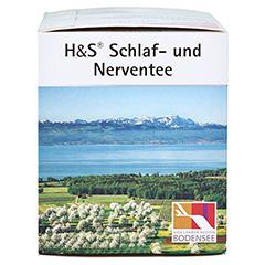 H&S Schlaf-und Nerventee 20x2.0 Gramm - Rechte Seite