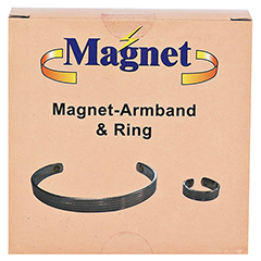 MAGNET ARMBAND & Ring Set 1 Stück - Vorderseite