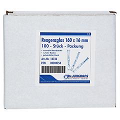 REAGENZGLAS 16x160 mm 100 Stück - Vorderseite