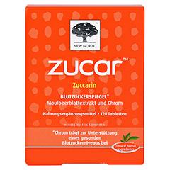 ZUCAR Zuccarin Tabletten 120 Stück - Vorderseite