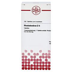 RHODODENDRON D 4 Tabletten 200 Stück N2 - Vorderseite
