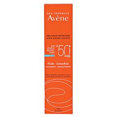 Avène Sunsitive Sonnenfluid SPF 50+ ohne Duftstoffe 50 Milliliter - Vorderseite