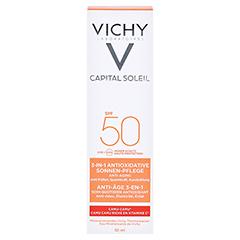 VICHY IDEAL Soleil Anti-Age Creme LSF 50 50 Milliliter - Vorderseite