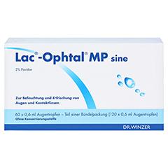 LAC OPHTAL MP sine Augentropfen 120x0.6 Milliliter - Vorderseite