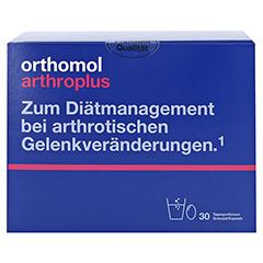 ORTHOMOL arthroplus Granulat/Kapseln 30 Stück - Vorderseite