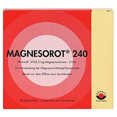 MAGNESOROT 240 Beutel 20 Stück N1 - Vorderseite