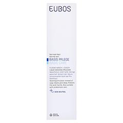 EUBOS FLÜSSIG blau unparfüm.m.Dosiersp. 400 Milliliter - Vorderseite