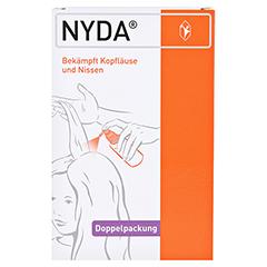 NYDA Pumplösung 2x50 Milliliter - Vorderseite