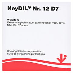 NEYDIL Nr.12 D 7 Ampullen 5x2 Milliliter N1 - Vorderseite