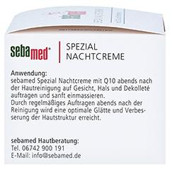 SEBAMED Spezial Nachtcreme Q10 75 Milliliter - Linke Seite