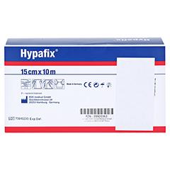 HYPAFIX Klebevlies hypoallergen 15 cmx10 m 1 Stück - Rückseite