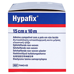 HYPAFIX Klebevlies hypoallergen 15 cmx10 m 1 Stück - Rechte Seite