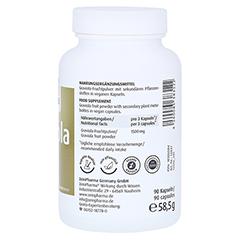 GRAVIOLA KAPSELN 500 mg/Kap.reines Blattpulv.Peru 90 Stück - Rechte Seite