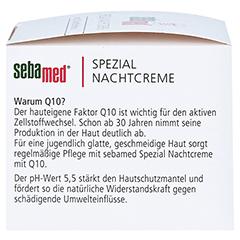 SEBAMED Spezial Nachtcreme Q10 75 Milliliter - Rechte Seite