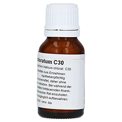 NATRIUM CHLORATUM C 30 Globuli 15 Gramm N1 - Rechte Seite