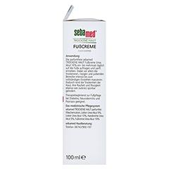 Sebamed Trockene Haut Fußcreme Urea akut 10% parfümfrei 100 Milliliter - Rechte Seite