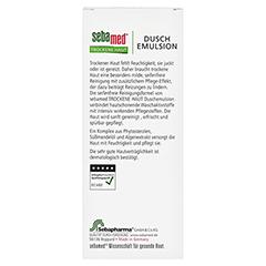 SEBAMED Trockene Haut Duschemulsion 200 Milliliter - Rückseite