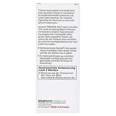 SEBAMED Trockene Haut 10% Urea akut Lotion 200 Milliliter - Rückseite