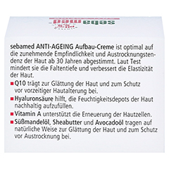 SEBAMED Anti-Ageing Aufbaucreme Q10 Tiegel 50 Milliliter - Rückseite