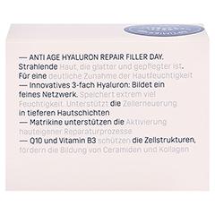 Eubos Hyaluron Repair Filler day Creme 50 Milliliter - Rückseite