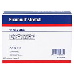 FIXOMULL stretch 15 cmx20 m 1 Stück - Rückseite