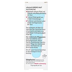 SEBAMED Unreine Haut Anti Pickel Gel 10 Milliliter - Rückseite