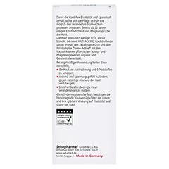 SEBAMED Anti-Ageing hautstraffende Lotion Q10 200 Milliliter - Rückseite