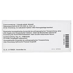 HIPPOCAMPUS GL D 5 Ampullen 10x1 Milliliter N1 - Rückseite