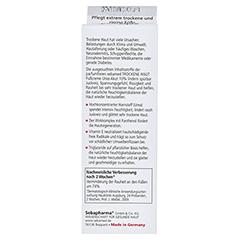 Sebamed Trockene Haut Fußcreme Urea akut 10% parfümfrei 100 Milliliter - Rückseite