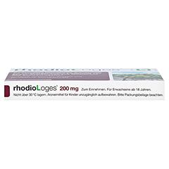 RHODIOLOGES 200 mg Filmtabletten 20 Stück N1 - Unterseite
