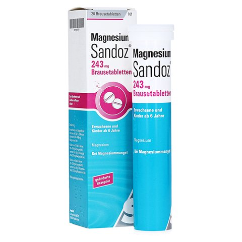 Magnesium-Sandoz 243mg 20 Stück N1