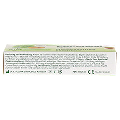 EM EUKAL PRO Halspastillen Eukalyptus zuckerfrei 30 Stück - Unterseite