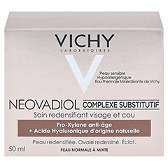 VICHY NEOVADIOL Creme normale Haut + gratis VICHY NEOVADIOL Serum 7 ml 50 Milliliter - Linke Seite