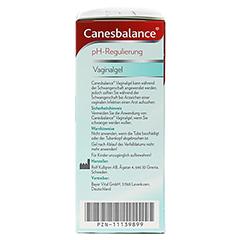 CANESBALANCE pH-Regulierung Vaginalgel 7x5 Milliliter - Rechte Seite