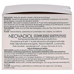 VICHY NEOVADIOL Creme normale Haut + gratis VICHY NEOVADIOL Serum 7 ml 50 Milliliter - Rechte Seite