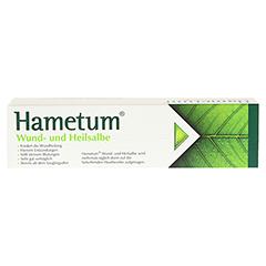 Hametum Wund- und Heilsalbe 100 Gramm N3 - Rückseite
